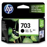 HP Black Ink Cartridge 703 [CD887AA] - Tinta Printer HP